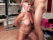 Nice And Old Granny Judi Is Only Old On The O...