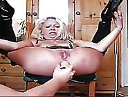 Trashy Mature Slut Getting Her Ass Hole Stret...