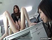 Japanese Girl Yuka Tsubasa Enjoys Fingering P...
