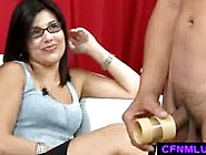 Guy Shoot Sload During Cfnm Play With Penis P...