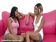 Sexy Black Girls Scissor Their Pussies Until ...