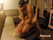 Drunk Couple Playfully Gets Abusive - Leads T...
