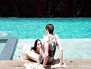 Randy Step-Mother Gives Head To Her Young Ste...