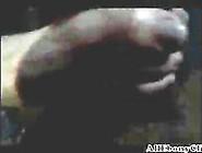 Footjob From A Cougar Black Ebony Cumshots Eb...
