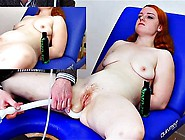 Redhead Sweetie Gets Her Muff Checked Out