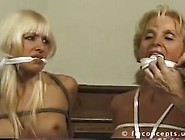 Mom And Daughter Tied Up And Gagged