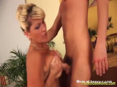 Busty Mom Tit Fucking Toyboy