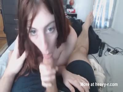 Petite Teen Quick POV Blowjob