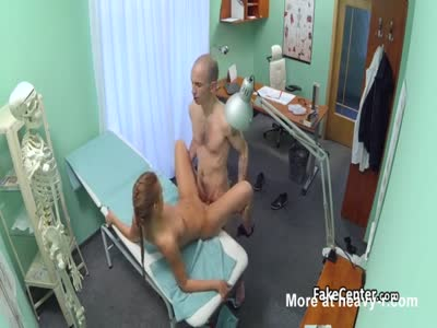 Nurse Fucks Old Professor In Hospital