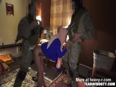 Local whore in Afghanistan at work satisfying soldiers