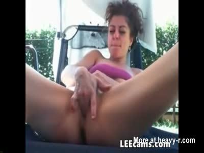 Outdoor Masturbating