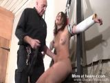Bound amateur Sex Slave