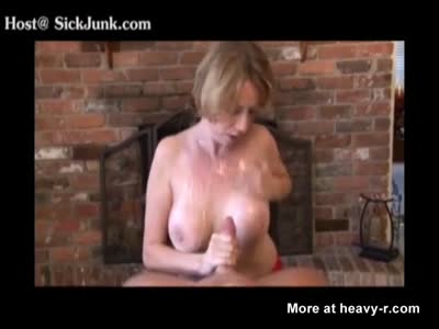 Stoned Mom Makes Her Son Cum On Her