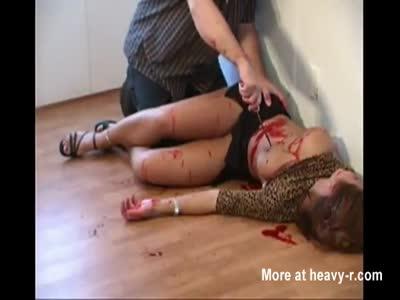 Slaughter girl porn, the nastiest horniest ebony porn