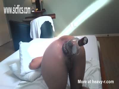 Anal Bottle Fuck
