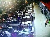Hitman Shoots Supermarket Cashier