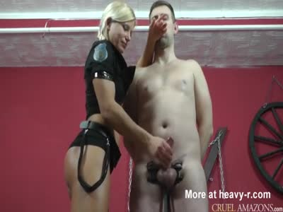 Handjob For Squeezed Down Cock