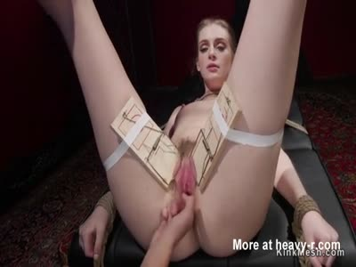 Blonde Anal Strap On Fucked In Lezdom
