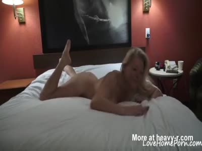 Horny Blonde Mature Finally In Threesome