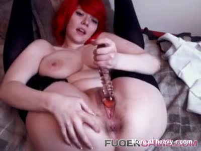 Redhead Addicted To Masturbating