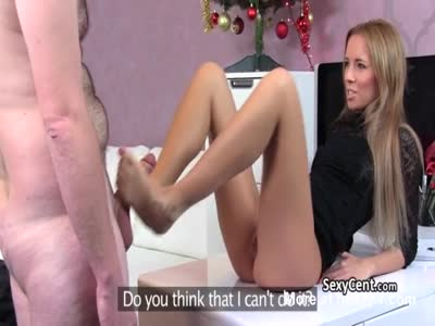 Cumshot On Legs