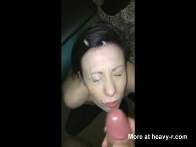 Facial For Slut