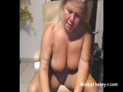 Busty Mom Teasing For Cam