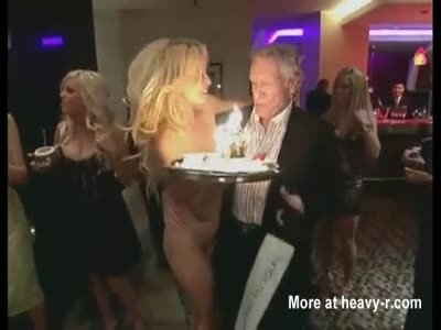 The Surprise Of Pamela Anderson For Hugh Hefner