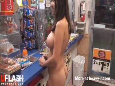 Hairy Girl Shoping Naked
