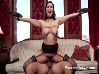Big Boobs Slaves Gets Masters Big Dick