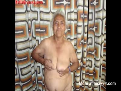 HelloGranny Latin Grandmas Sucking and Showoff