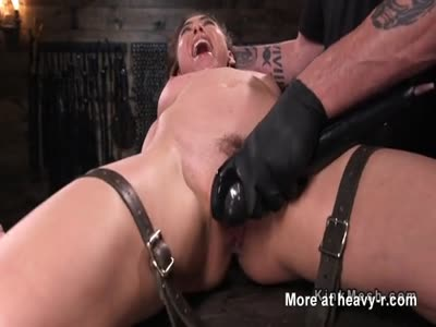 Bound Slave Made To Orgasm
