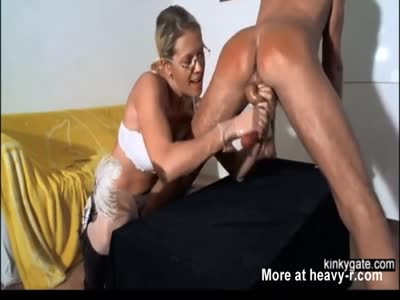 Mistress Spanking And Milking Me