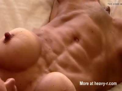 Sexy Bodybuilder With Big Clit