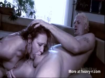 Chubby Slut Face Fucked
