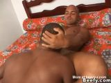 Hard Beefy Fuck and Hunky Suck on the Bed