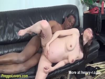 Pregnant Teen Cummed On Big Belly