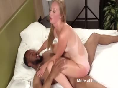 Petite Blonde Gets Destroyed