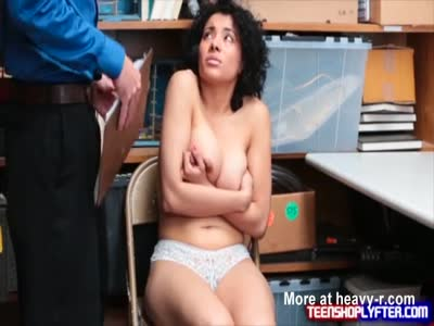 Busty Latina Pays The Price To Go Free