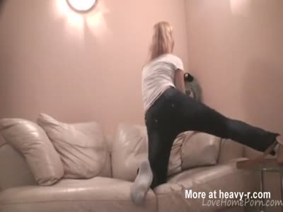 Dancing In Sexy Tight Jeans
