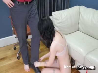 Slutty girl was brought in butthole asylum for harsh treatme