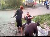 Funny Drunk Fight In Russia