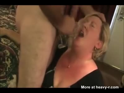 Horny Mature Rimbjob And Blowjob