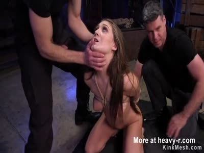 Brunette Fucked In BDSM