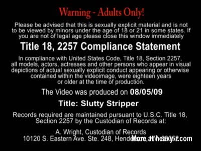 The Slutty Stripper