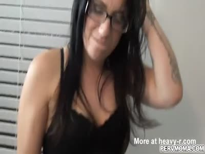 Alyssa Jade wants stepsons young cock for the last time
