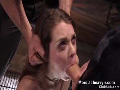 Big Cock Master Banging Shaved Slave In BDSM