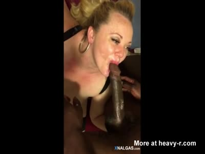 BBW Enjoys Big Black Dick