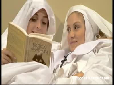 Nuns Turn Into Wild Lesbians