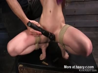 Two masters rough fucking trainee